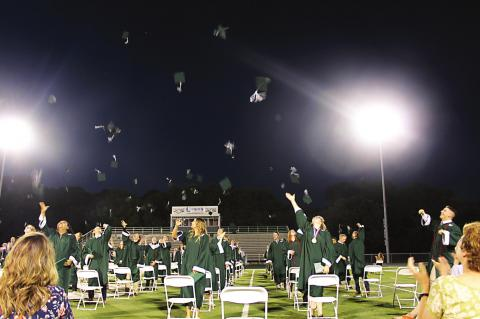 HATS OFF TO GRADS