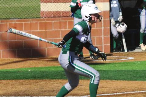 The Canton Eaglettes continued to close in on the start of District 14-4A play last week, hitting the field five times over two days as part of their annual tournament. Photo by David Kapitan