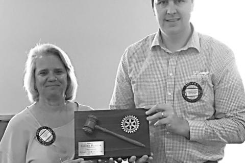 Canton Rotary Club names Rotarian of the Year