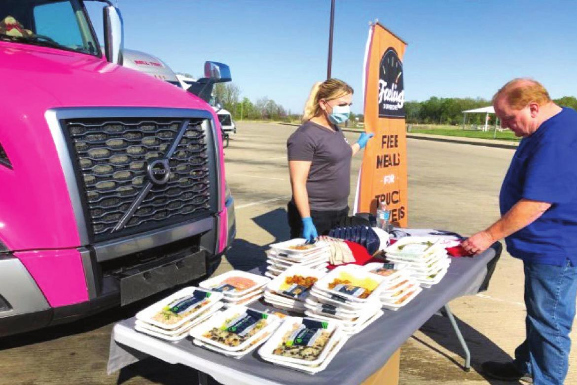 Fueling Our Heroes provides meals for truck drivers