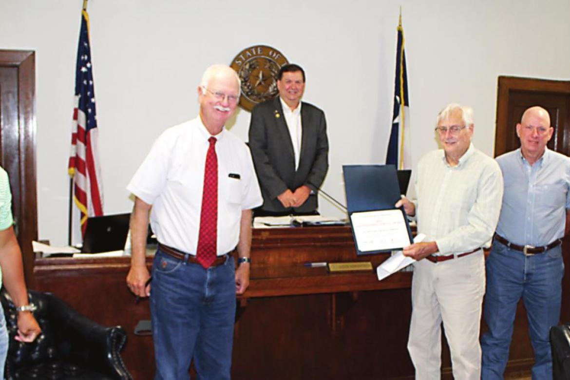 VZC Historical Commission receives state award