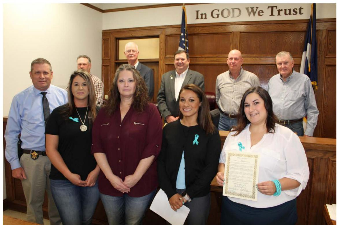 Sexual Assault Awareness Month proclamation approved