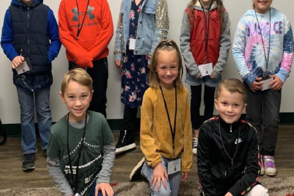 January CES Student Council named